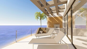 Luxury apartments on the seafront in Playa Los Locos in Ole International