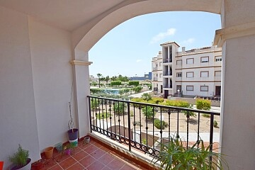 2 beds apartment overlooking the pool with solarium & parking in Punta Prima in Ole International
