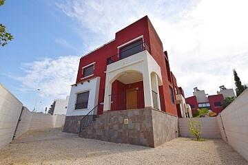 Large corner 2 beds semidetached villa with garden in Aguas Nuevas  * in Ole International