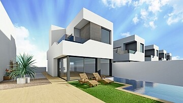 3 beds brand new detached villas with pool in Ciudad Quesada  in Ole International