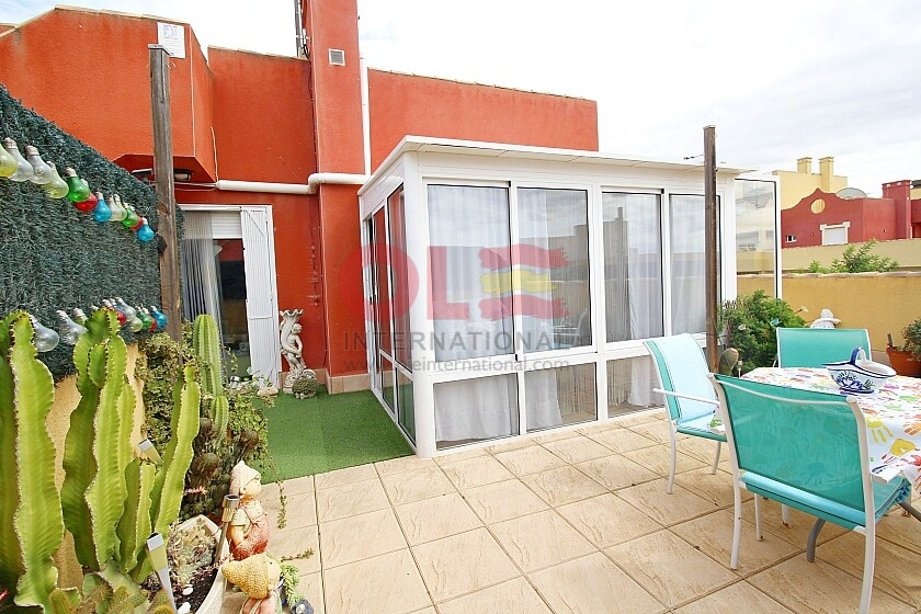 1 bed top floor apartment with large terraces in La Tercia  in Ole International