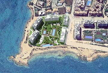 Modern style apartments on the seafront in Punta Prima  in Ole International