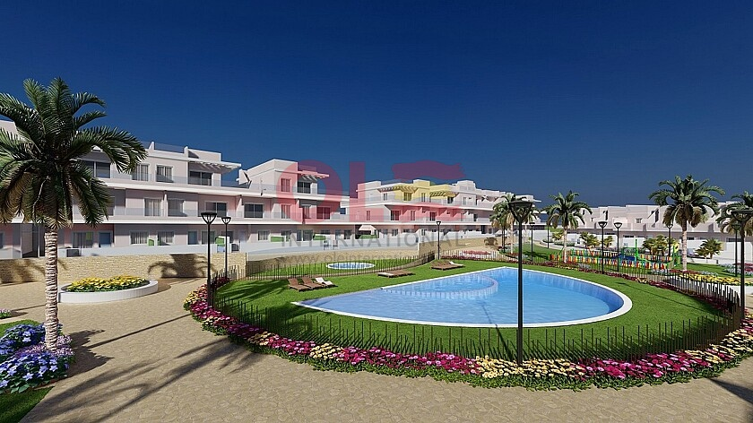 2 beds apartments near Playa Higuericas in La Torre de la Horadada  in Ole International