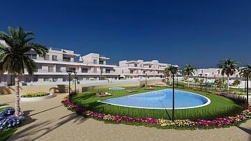 Herenhuizen met 3 slaapkamers naast het strand van Higuericas in La Torre de la Horadada in Ole International