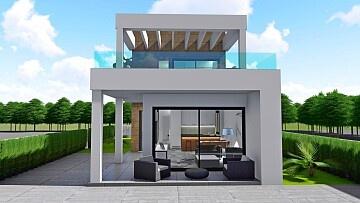 Nieuwbouw villa met 3 slaapkamers in Ciudad Quesada in Ole International