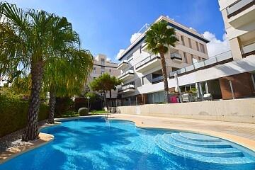 Apartament la parter cu 2 dormitoare în fața piscinei din Villamartín in Ole International