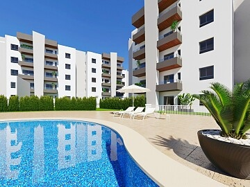 2 beds penthouses with private solarium in San Miguel de las Salinas in Ole International
