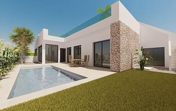 2 beds ground floor detached villas in El Pilar de la Horadada in Ole International