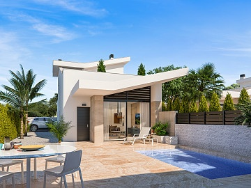 2 bedrooms semidetached luxury villas near Benijofar in Ole International