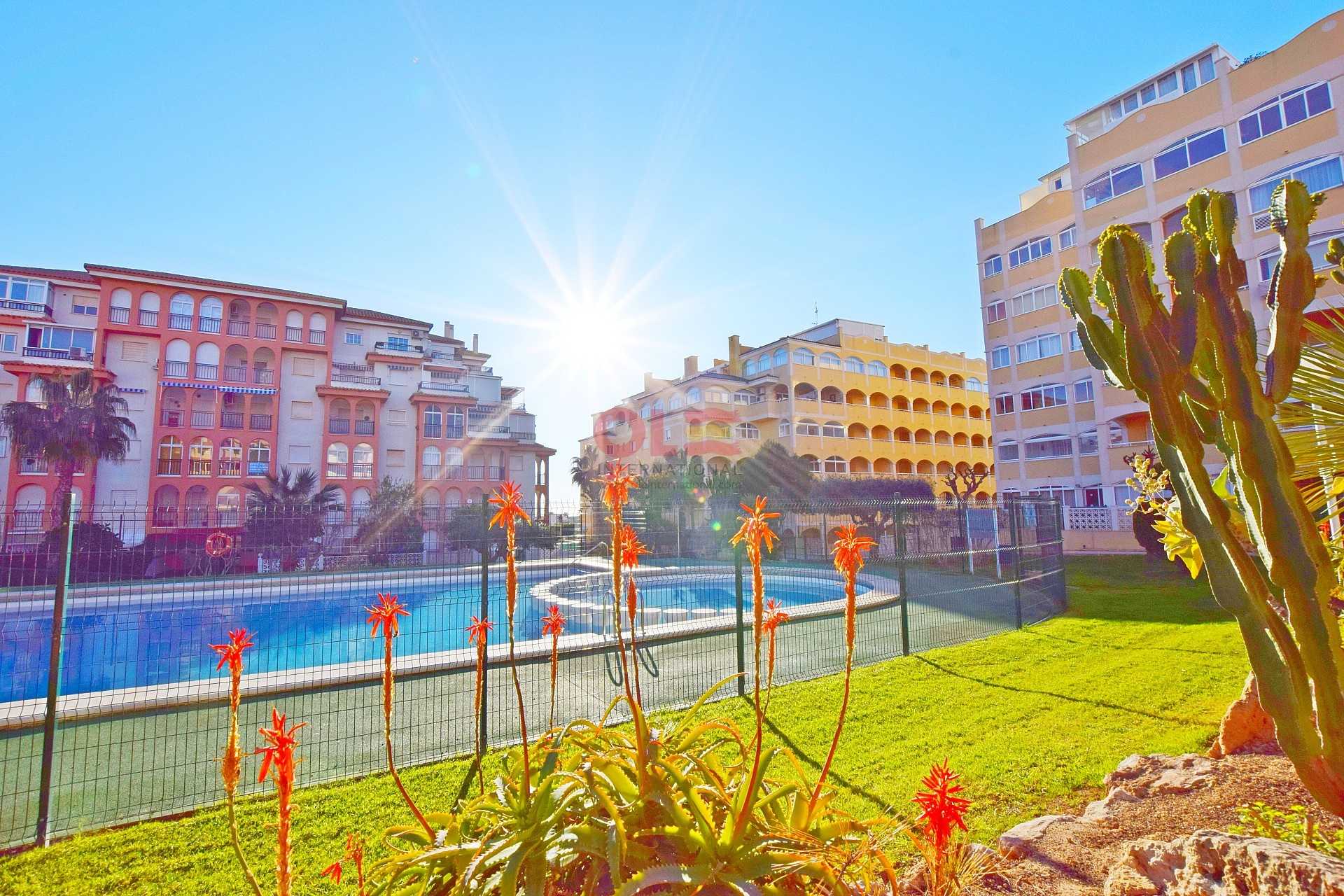 2 beds key ready apartments in La Mata near the beach  *