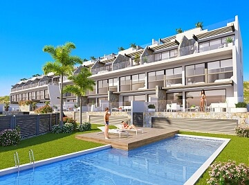 Luxury apartments with sea views in Guardamar in Ole International
