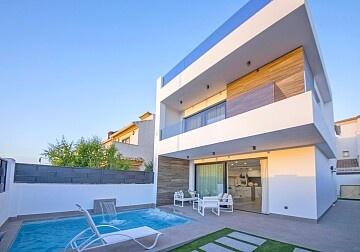 Luksusvilla med 3 soverom i Santiago de la Ribera in Ole International