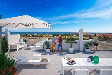 2 beds apartments 300 m. walk to beach in Torre de la Horadada in Ole International