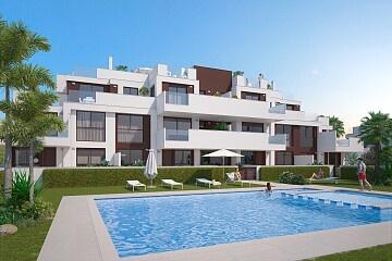 3 beds apartments 300 m. walk to beach in Torre de la Horadada in Ole International