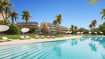 Luxury seafront apartments in El Albir in Ole International