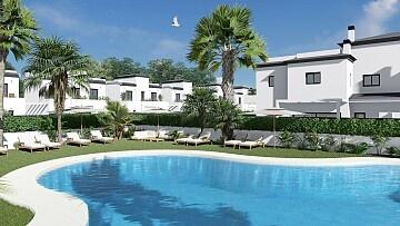 Rekkehus med 3 soverom i Gran Alacant nær Alicante og flyplassen in Ole International
