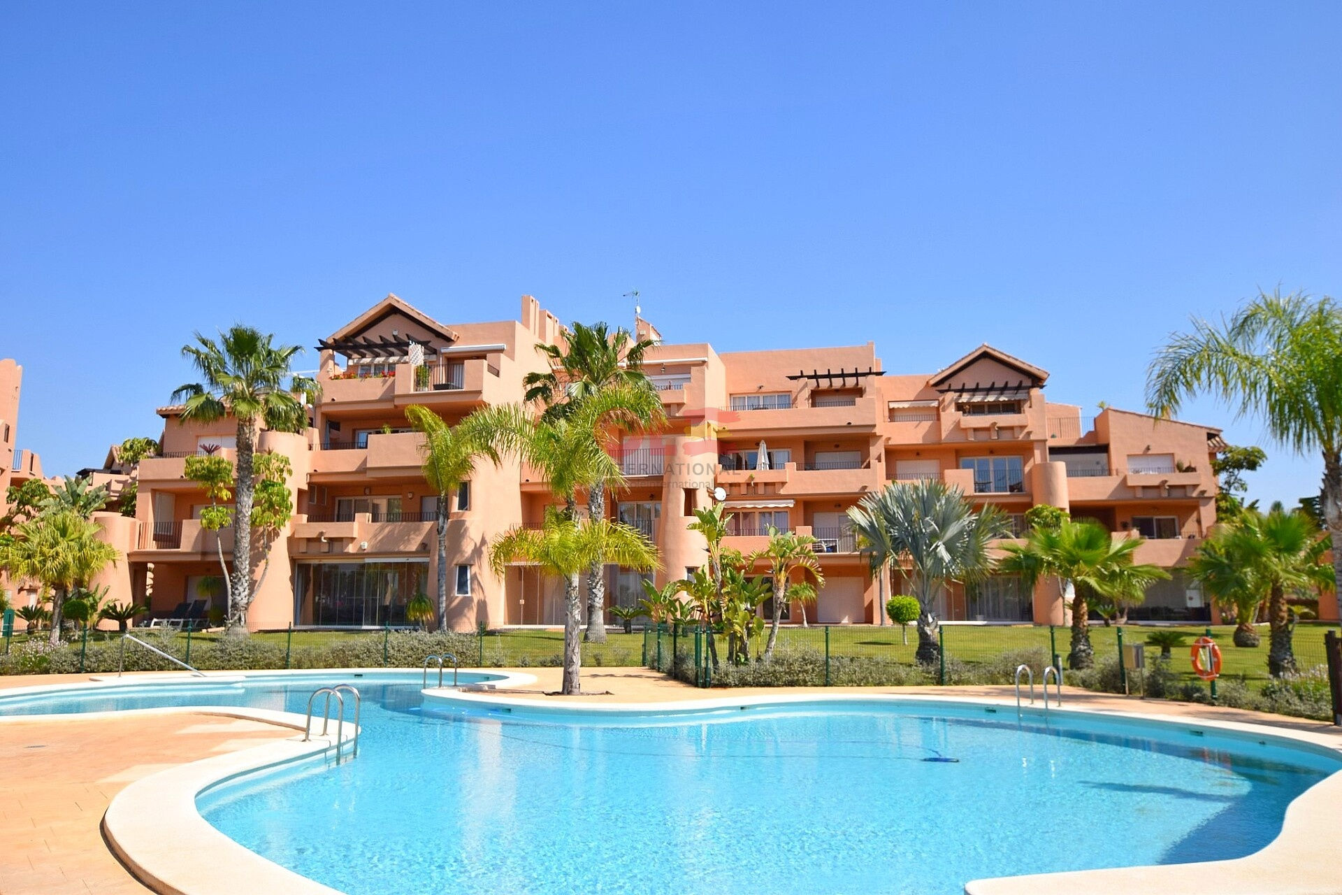 Brand new luxury apartments in Mar Menor Golf Resort in Murcia