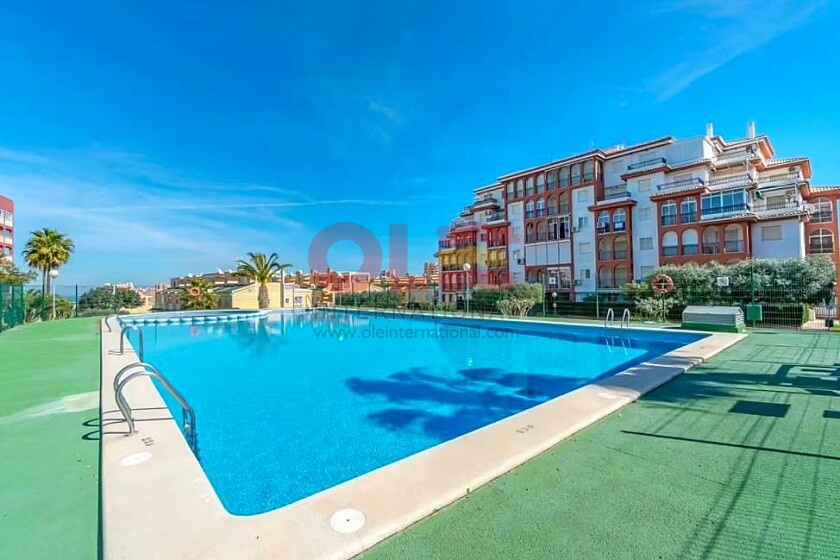 2 beds apartment with private garden near the beach in La Mata * in Ole International
