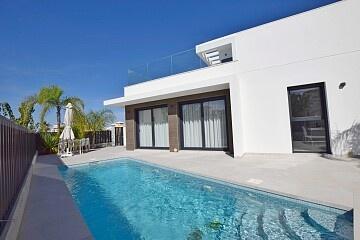 3 beds luxury semidetached villas in La Marina  * in Ole International