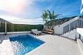 3 bedrooms brand new semidetached villas in Orxeta in Ole International