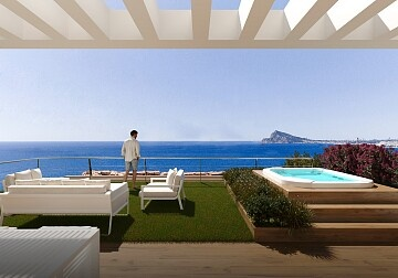 Apartement in Pueblo Mascarat, Altea in Ole International